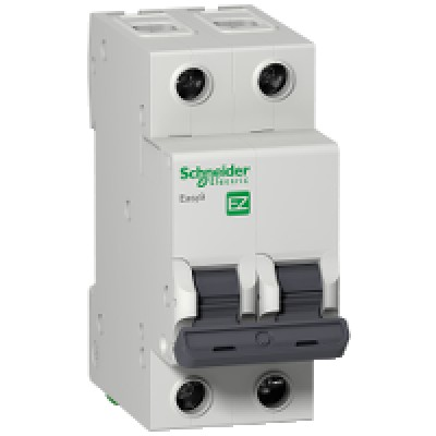 Автомат Schneider Electric серия Easy9 2п 6А
